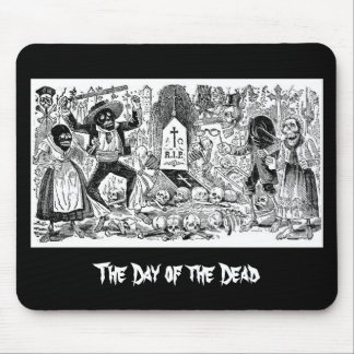 The Day of the Dead, Mexico. Circa early 1900's Mouse Pad