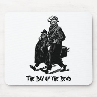 The Day of the Dead Painting circa 1955. Mouse Pad
