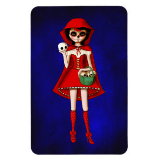 The Day of The Dead Red Riding Hood Magnet