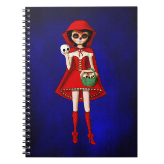 The Day of The Dead Red Riding Hood Notebooks
