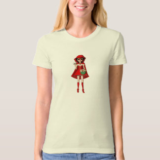 The Day of The Dead Red Riding Hood T-Shirt