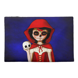 The Day of The Dead Red Riding Hood Travel Accessories Bags