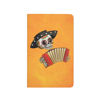 The Day of The Dead Skeleton El Mariachi Journals
