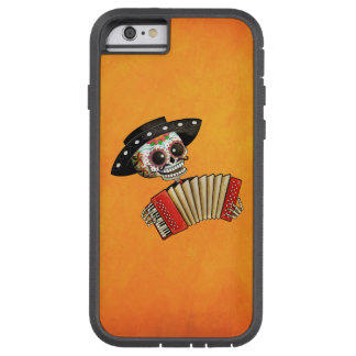 The Day of The Dead Skeleton El Mariachi Tough Xtreme iPhone 6 Case