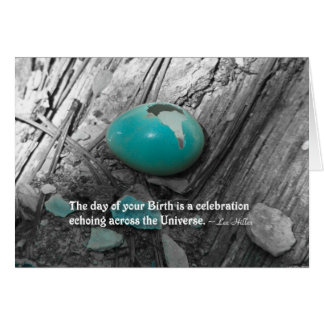The day of your Birth is a... Card