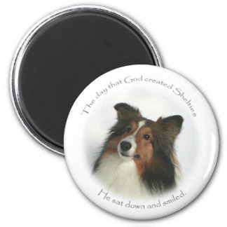 The Day Shelties Were Created Magnet