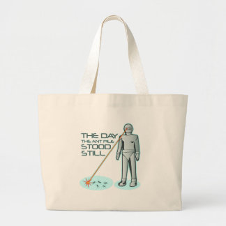 The Day the Ant Pile Stood Still Canvas Bag
