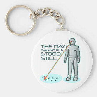 The Day the Ant Pile Stood Still Keychains