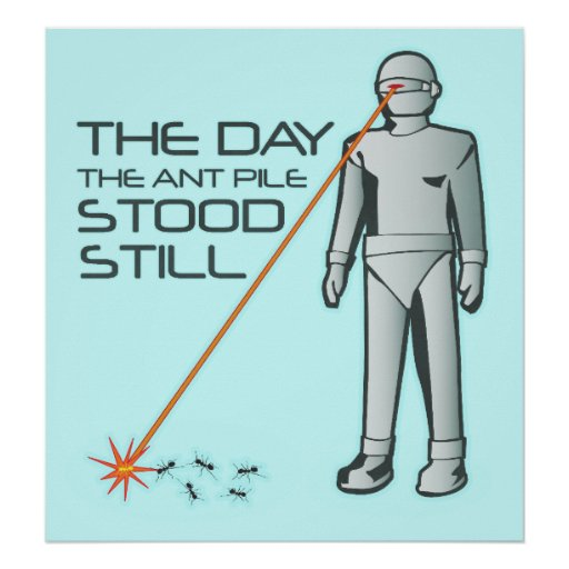 The Day the Ant Pile Stood Still Poster
