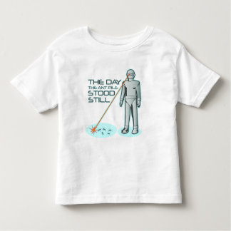 The Day the Ant Pile Stood Still Toddler T-shirt