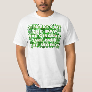 The Day The Gingers Take Over The World Shirt