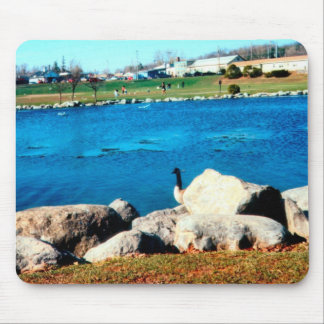 The Day Watch Mouse Pad