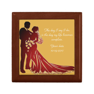 The Day We Marry Jewelry Box
