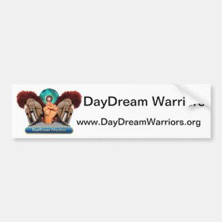 The DayDream Warriors Bumper Sticker Car Bumper Sticker
