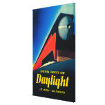 The Daylight Train Promotional Poster Canvas Print
