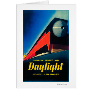 The Daylight Train Promotional Poster Card