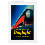 The Daylight Train Promotional Poster Greeting Card