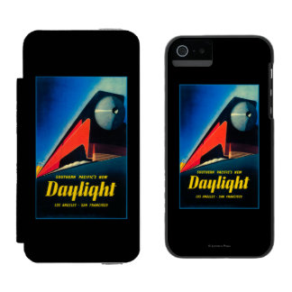 The Daylight Train Promotional Poster iPhone SE/5/5s Wallet Case