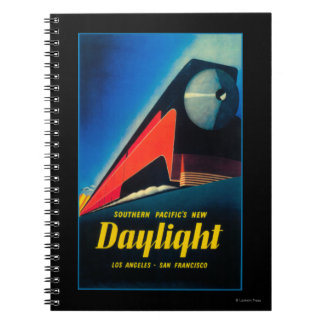 The Daylight Train Promotional Poster Notebook
