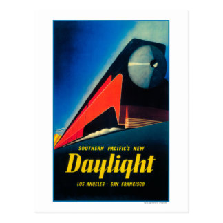 The Daylight Train Promotional Poster Postcard