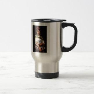 The Days Catch by Eugene de Blaas Coffee Mug