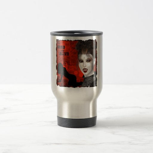 The Dead Are Alive - Travel/Commuter Mug