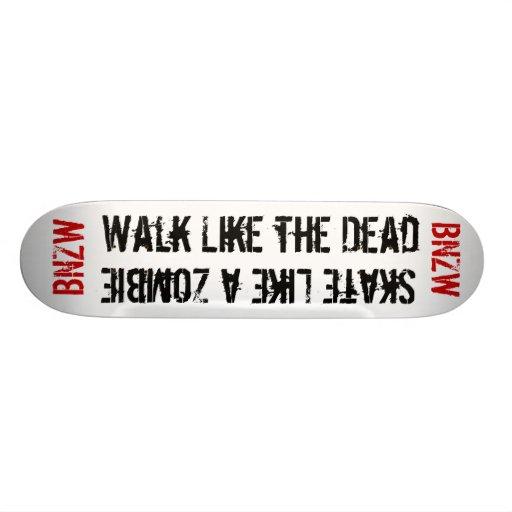 The dead Board Skateboard Deck