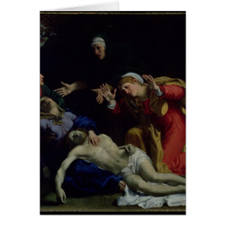 The Dead Christ Mourned , c.1604 Card