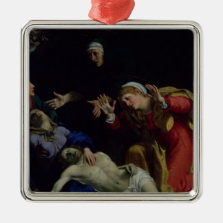 The Dead Christ Mourned , c.1604 Metal Ornament