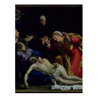The Dead Christ Mourned , c.1604 Postcard