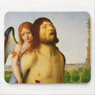 The Dead Christ Supported by an Angel, c.1475/78 Mouse Pad