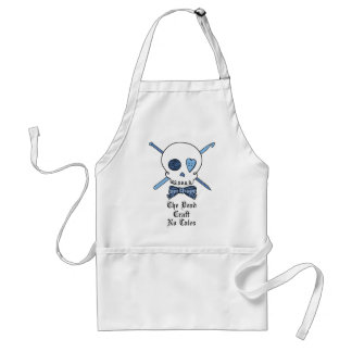 The Dead Craft No Tales (Blue) Adult Apron