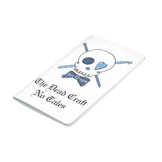 The Dead Craft No Tales - Craft Skull (Blue) Journals