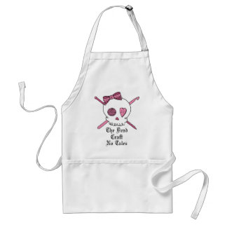 The Dead Craft No Tales (Pink) Adult Apron