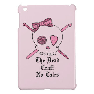 The Dead Craft No Tales (Pink Background) Case For The iPad Mini