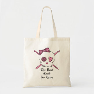 The Dead Craft No Tales (Pink) Tote Bag