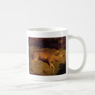 The Dead Doe by Gustave Courbet Coffee Mug
