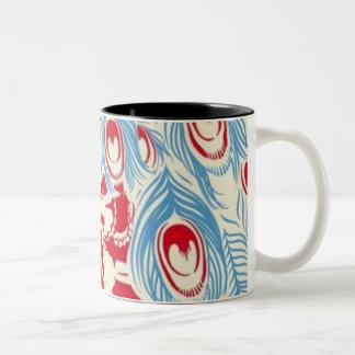 The Dead in Peacocks Coffee Mug