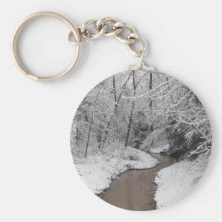 The Dead of Winter Basic Round Button Keychain