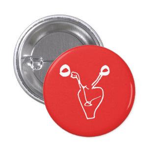 The Dead Ovaries Logo Button