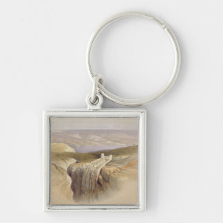 The Dead Sea looking towards Moab, Volume II Keychain