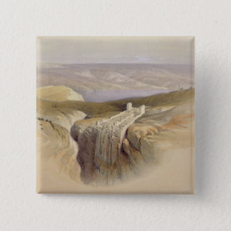 The Dead Sea looking towards Moab, Volume II Pinback Button