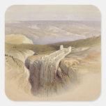 The Dead Sea looking towards Moab, Volume II Sticker