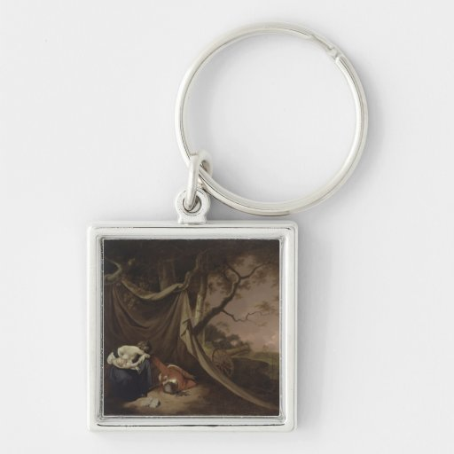 The Dead Soldier, c.1789 (oil on canvas) Keychain
