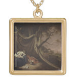 The Dead Soldier, c.1789 (oil on canvas) Necklace