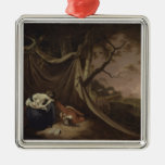 The Dead Soldier, c.1789 (oil on canvas) Christmas Ornaments