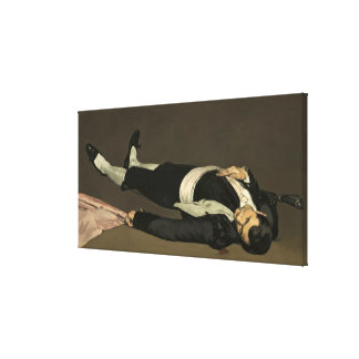 The Dead Toreador, c.1864 (oil on canvas) Stretched Canvas Prints