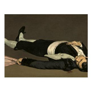 The Dead Toreador, c.1864 (oil on canvas) Postcard