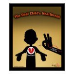 The Deaf Child's Heartbreak Poster