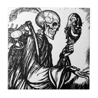 The death calls ceramic tile